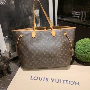 Authentic Vintage Louis Vuitton Neverfull GM